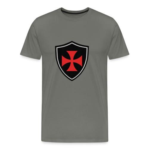 Blason templiers - T-shirt Premium Homme