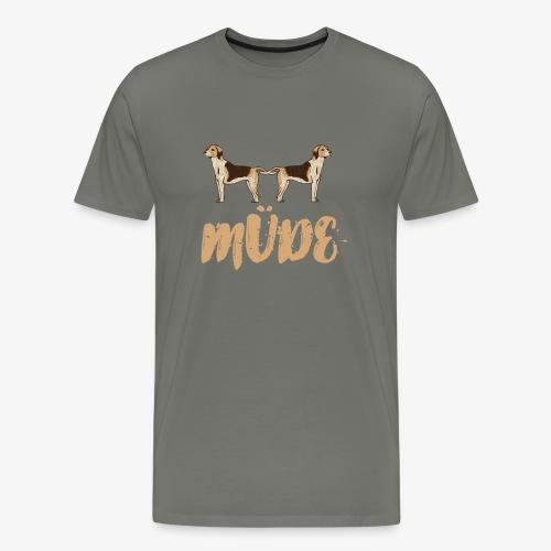 Hundemüde - Männer Premium T-Shirt