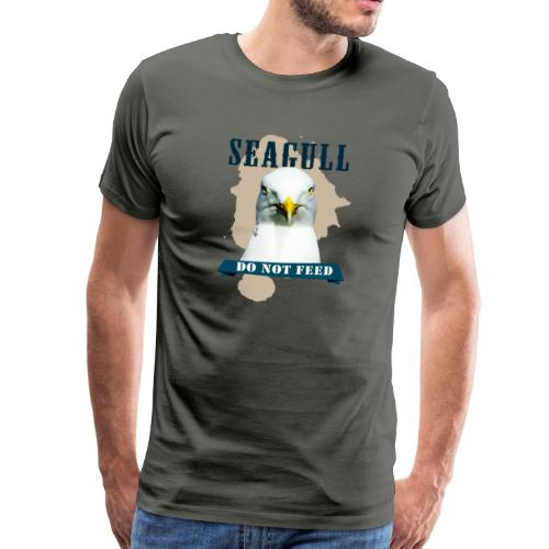 SEAGULL - DO NOT FEED - Männer Premium T-Shirt