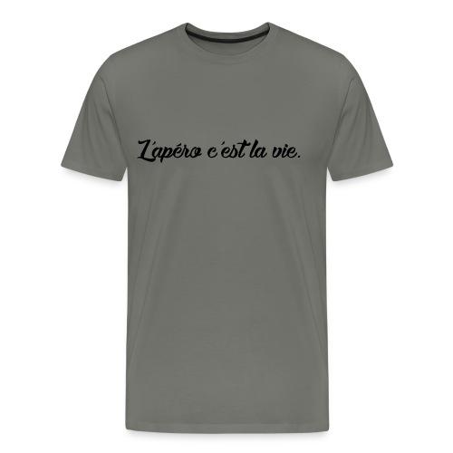 L'apero c'est la vie - T-shirt Premium Homme