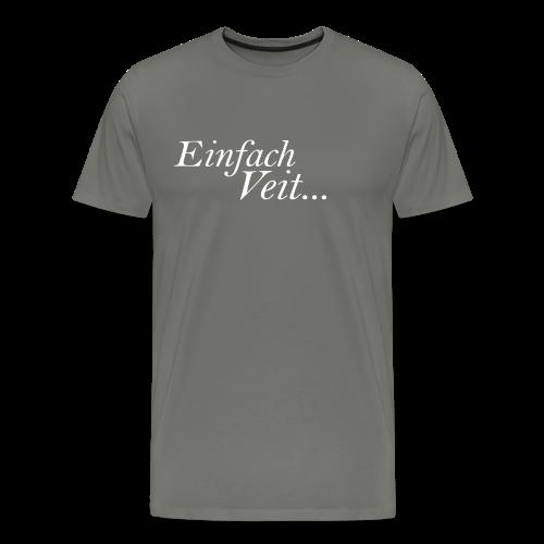 Standart Einfach Veit... TheVeit - Männer Premium T-Shirt