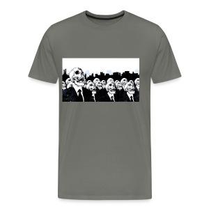 Det är abdis desgning - Premium-T-shirt herr