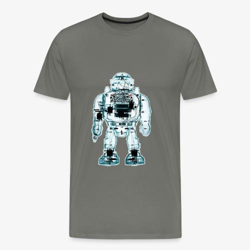 x ray robot 1 - Maglietta Premium da uomo
