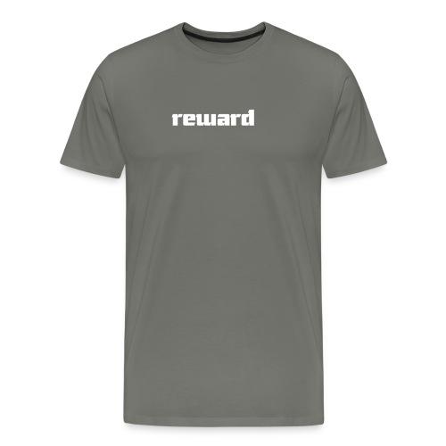 reward white logo - Men's Premium T-Shirt