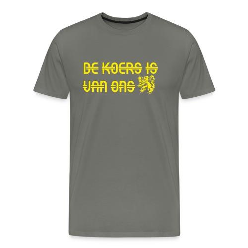 koers is van ons - Mannen Premium T-shirt