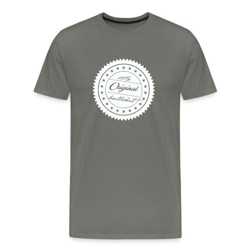 bullshit quality brand - Männer Premium T-Shirt
