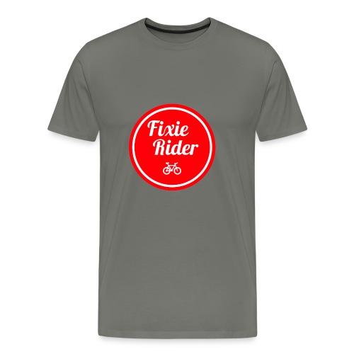 Fixie Rider - T-shirt Premium Homme