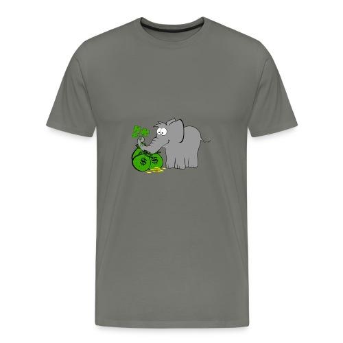 Der Gewinnofant - Männer Premium T-Shirt