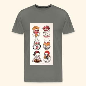 Babies - Miesten premium t-paita