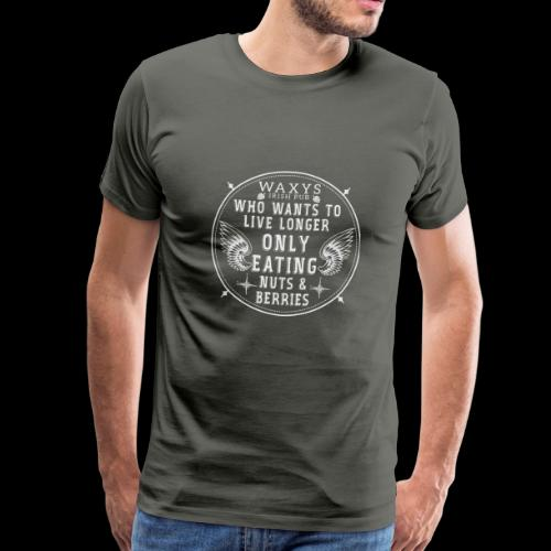 WAXYS NUTS BERRIES 05 - Men's Premium T-Shirt