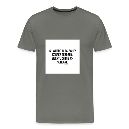 falscher Körper - Männer Premium T-Shirt
