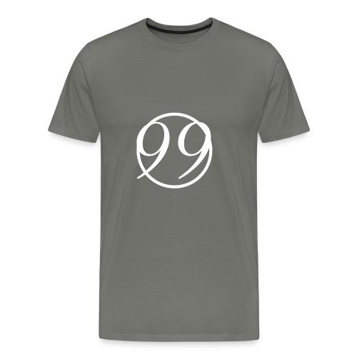 99_white - Men's Premium T-Shirt