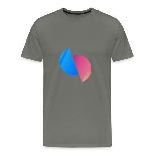 Ediplace logo färg - Premium-T-shirt herr