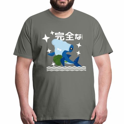 Kawaii Veganer Hai Shirt Veganer T-Shirt Geschenk - Männer Premium T-Shirt