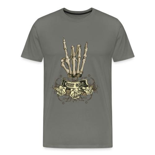 I dnt care - Camiseta premium hombre