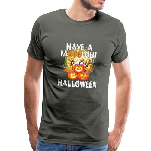 Have a faboolous halloween - Männer Premium T-Shirt