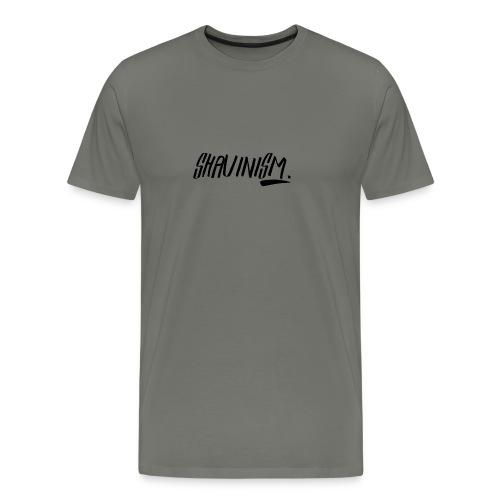 Shavinism logo - Men's Premium T-Shirt