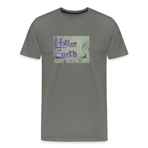 Hollow Earth-T-Shirt mit Bild - Männer Premium T-Shirt