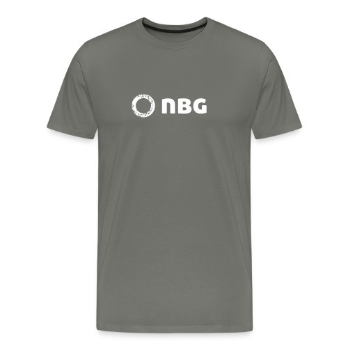 NBG Logo Icon - Männer Premium T-Shirt