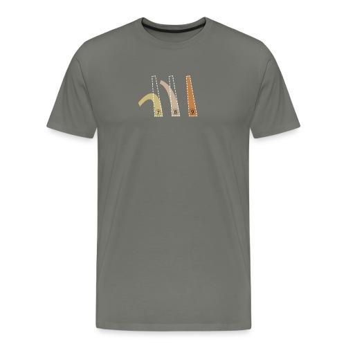Cones - Mannen Premium T-shirt