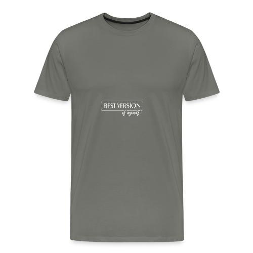 Best Version Of Myself - Männer Premium T-Shirt