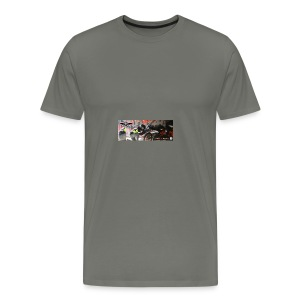 Facebook Titelbild bearbeitet - Männer Premium T-Shirt