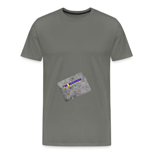 The Beginning - Men's Premium T-Shirt