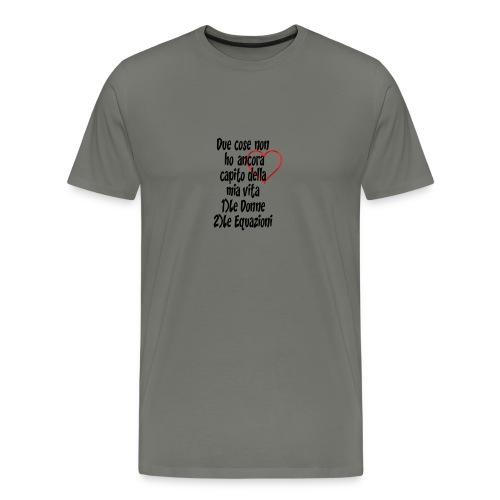 Donne Equazioni - Maglietta Premium da uomo