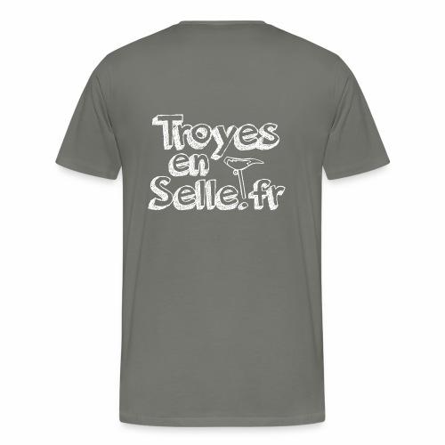 logo Troyes en Selle - T-shirt Premium Homme