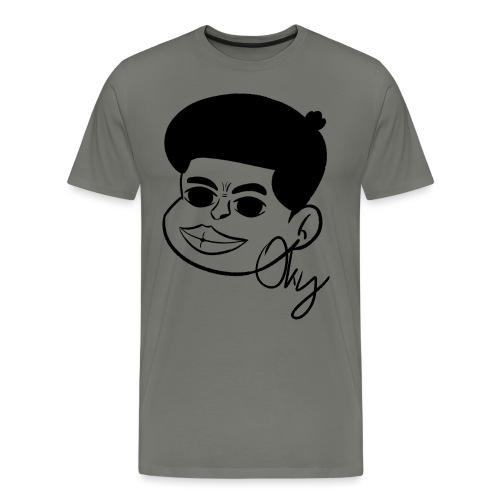 Afro Boy - Männer Premium T-Shirt