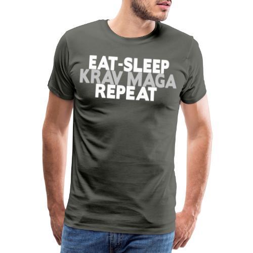 EAT SLEEP KRAV MAGA REPEAT - Men's Premium T-Shirt