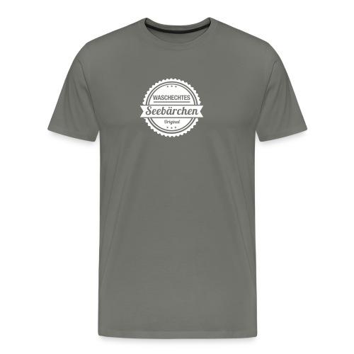 Waschechtes Seebärchen - Männer Premium T-Shirt