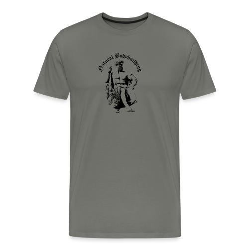 natural bodybulding - Koszulka męska Premium