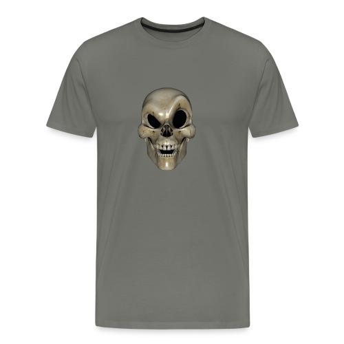 Smart Skull - Premium T-skjorte for menn