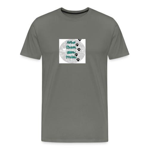 BUTTON3 png - Männer Premium T-Shirt