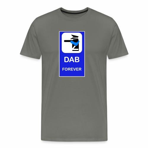 DAB POLICE BLUE - Maglietta Premium da uomo