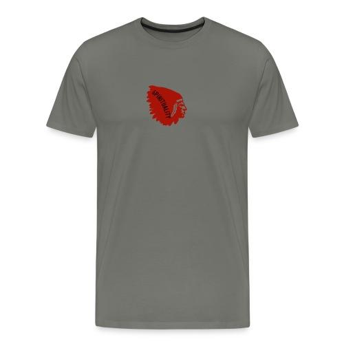 spirituality - Herre premium T-shirt