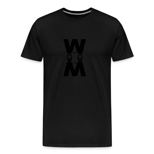 EYES DOWN WATCH MATCH STYLE - Maglietta Premium da uomo