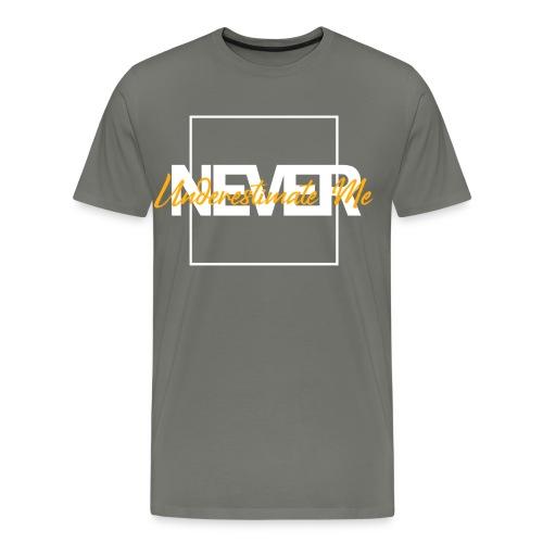 never - Männer Premium T-Shirt