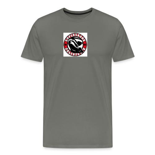 superskank rund - Männer Premium T-Shirt