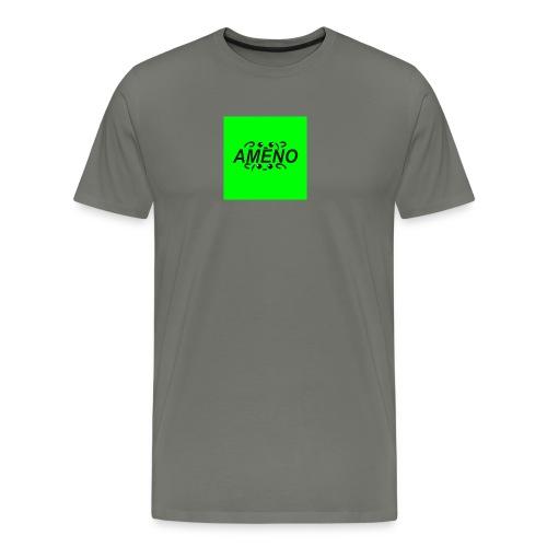 amenoVert2 png - T-shirt Premium Homme