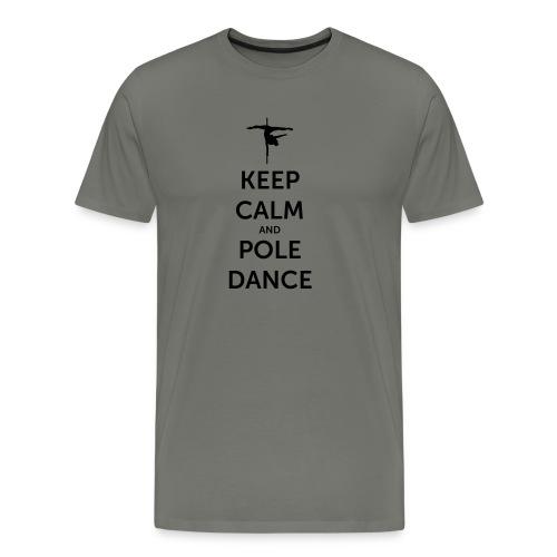 Keep Calm and Pole Dance ♡ - Männer Premium T-Shirt
