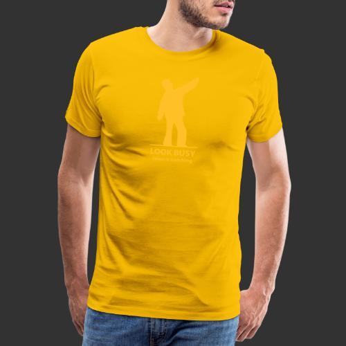 naken lookbusy nyast - Premium-T-shirt herr
