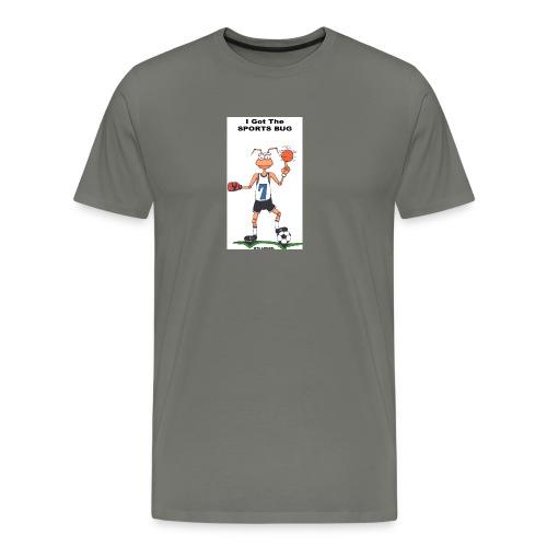 BACK SPORTS BUG COL - Men's Premium T-Shirt