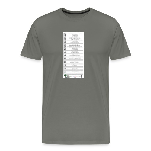 PSE lexique - T-shirt Premium Homme