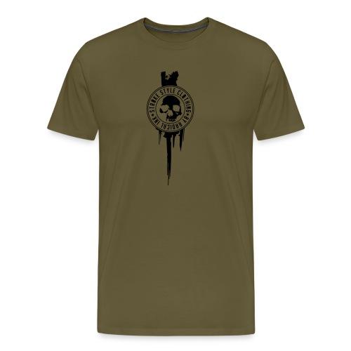 patch stroke pfade - Männer Premium T-Shirt