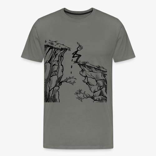 Schluchtenscheisser - Männer Premium T-Shirt