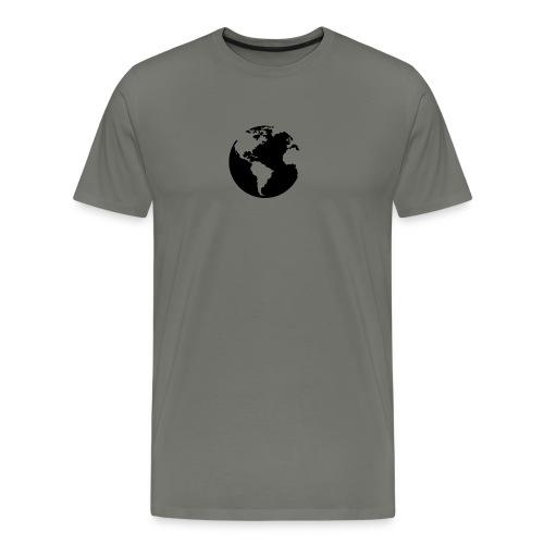 World Welt Erde - Männer Premium T-Shirt