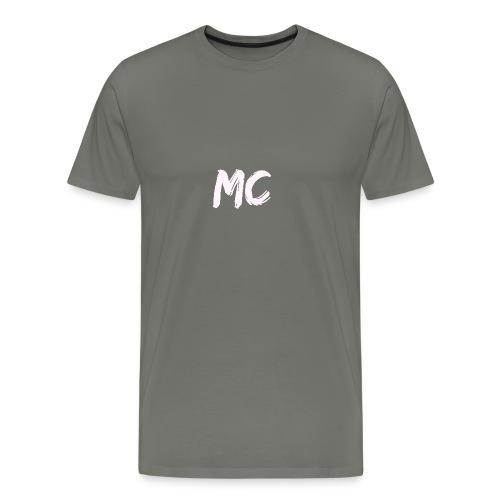 MC Merch T-shirt - Small badge (Grey) - Men's Premium T-Shirt