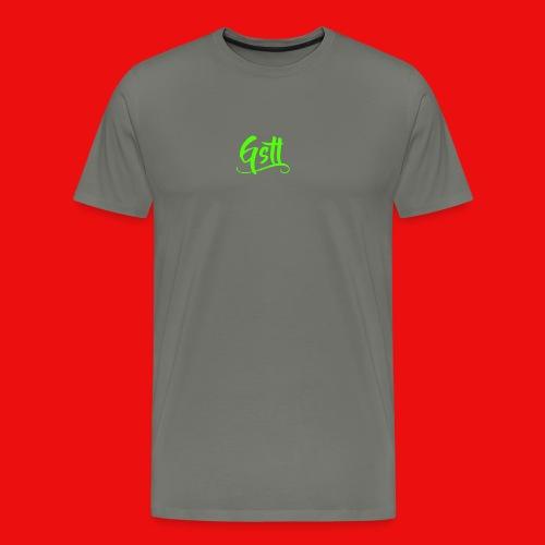 Gstl_Logo_-Green- - Men's Premium T-Shirt
